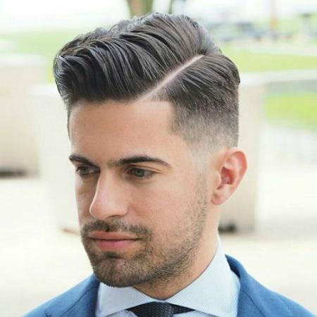 Kiểu tóc namPhong Cách Âu Mỹ