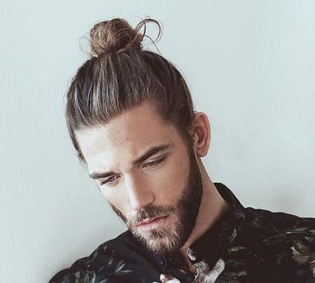 Kiểu tóc nam Dài Cột