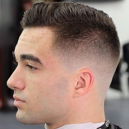 Kiểu tóc nam Cắt Ngắn