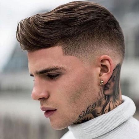 Kiểu tóc namShort Quiff