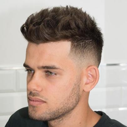 Kiểu tóc namTextured Crop