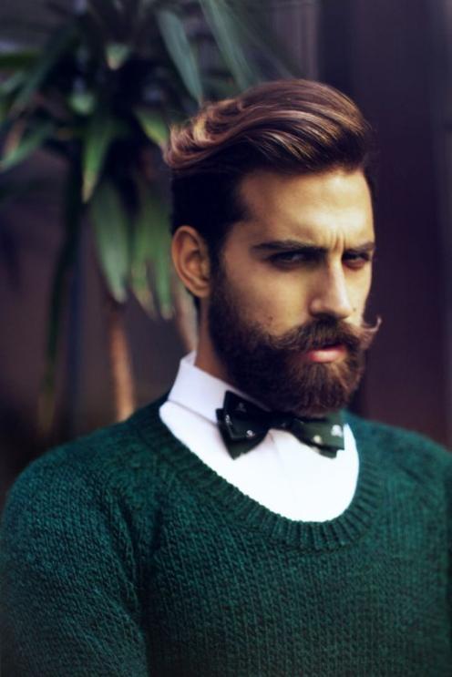 Tạo mẫu tóc undercut mái dài cho nam phong độ