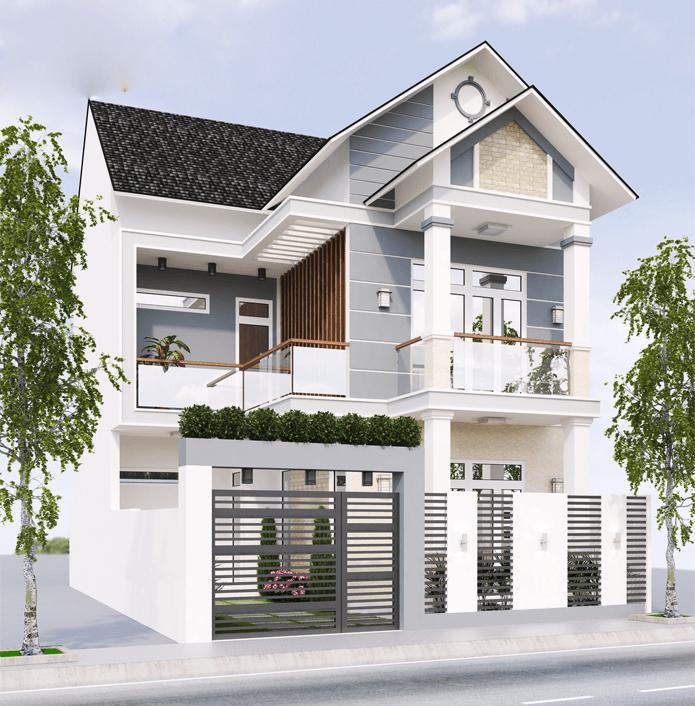 Tuyển chọn mô hình mẫu nhà 2 tầng đẹp