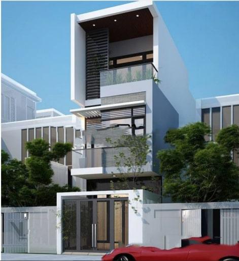 Mẫu nhà đẹp hiện đại hot nhất hiện nay - Thiết kế 10