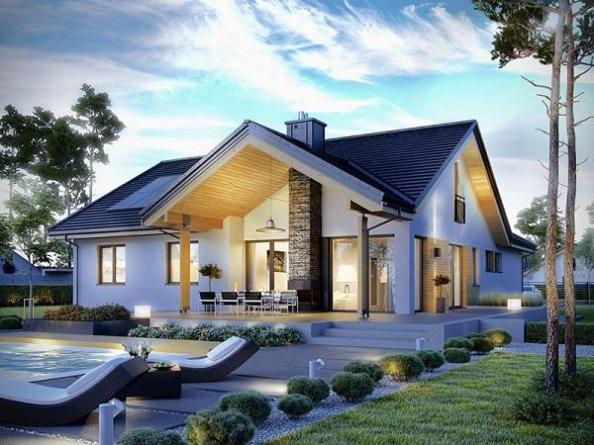 Mẫu nhà đẹp hiện đại hot nhất hiện nay - Thiết kế 2