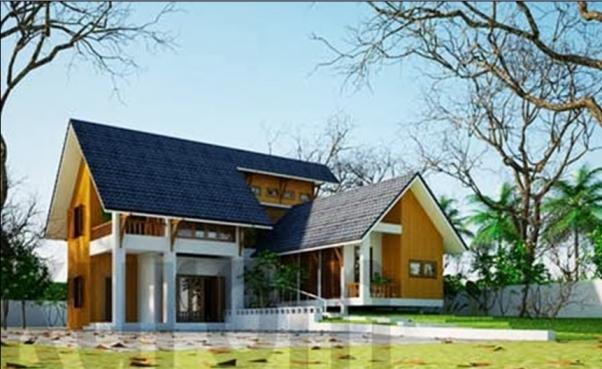 Mẫu nhà đẹp hiện đại hot nhất hiện nay - Thiết kế 3