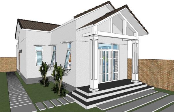 Mẫu nhà đẹp hiện đại hot nhất hiện nay - Thiết kế 4