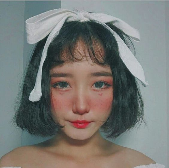 Sư tầm các kiểu tóc nữ Hàn Quốc uốn Cụp đẹp phá cách
