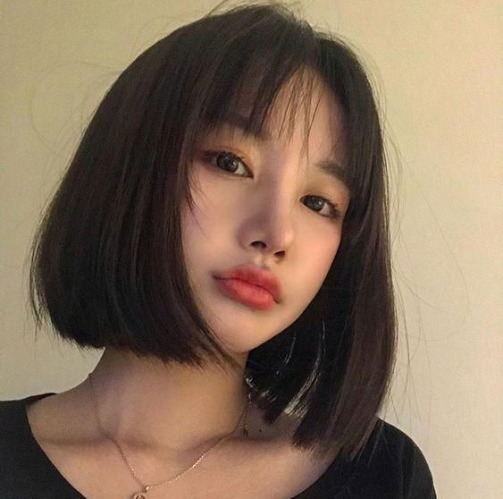 Toàn bộ các mẫu tóc nữ Hàn Quốc uốn Cụp đẹp đến say nắng