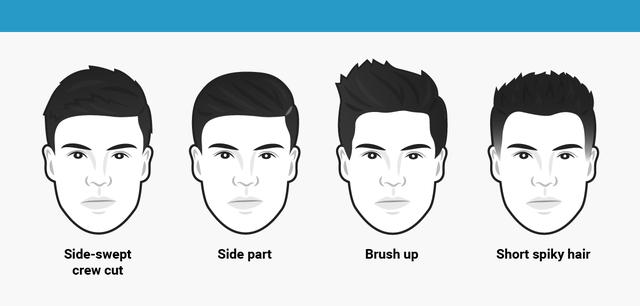 Cắt kiểu tóc gì cho khuôn mặt tròn các bạn nam ?
