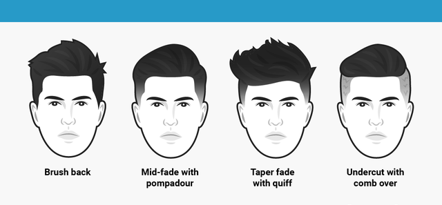 Nên cắt kiểu tóc gì nhất cho khuôn mặt tròn nam giới ?