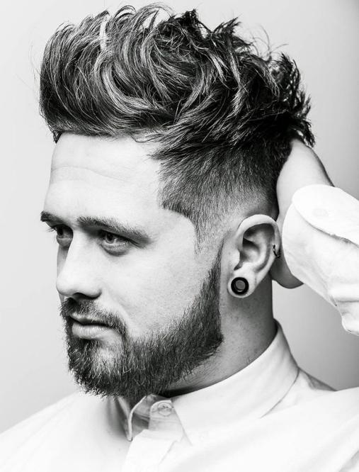 Các kiểu tóc nam đẹp được chọn lựa nhiều dành cho khuôn mặt to tròn