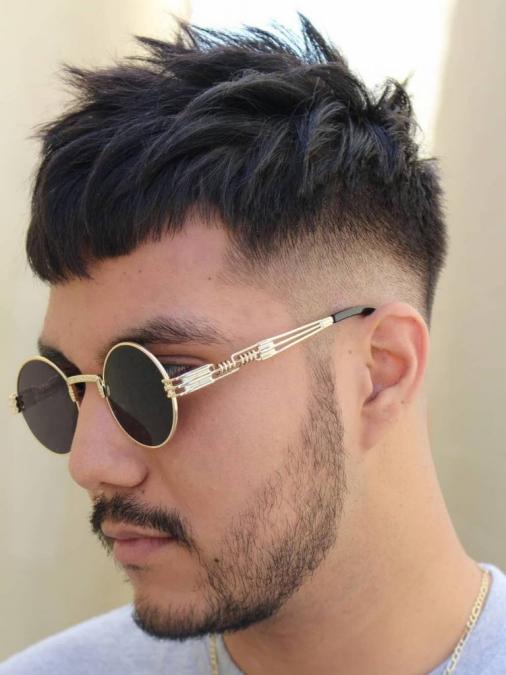 Các kiểu tóc nam đẹp thịnh hành dành cho khuôn mặt to tròn