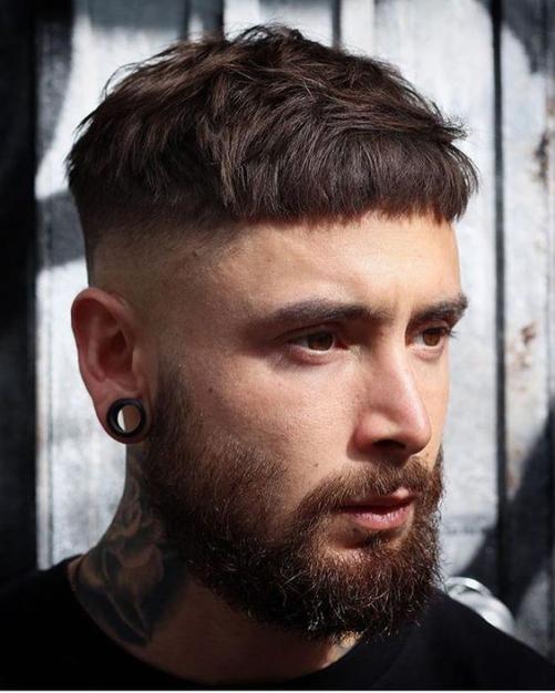 Các hình ảnh kiểu tóc nam đẹp 2019 cho mặt tròn phù hợp nhiều gương mặt