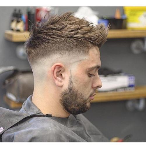 Các hình kiểu tóc nam đẹp 2019 cho mặt tròn cá tính riêng