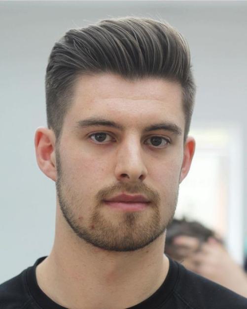 Các kiểu tóc nam đẹp dành cho khuôn mặt tròn được được yêu thích