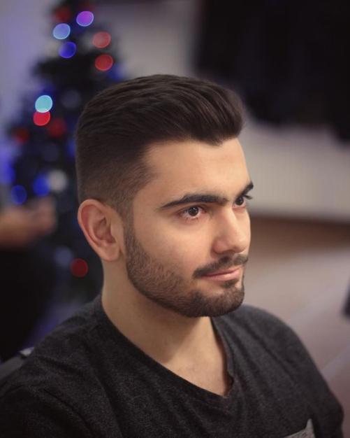 Các Style kiểu tóc nam đẹp dành cho khuôn mặt tròn đầy phong độ
