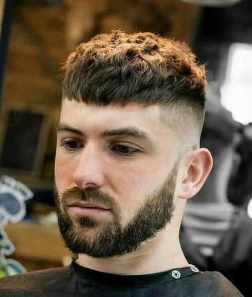 Các kiểu tóc nam đẹp thịnh hành dành cho khuôn mặt tròn đầy mạnh mẽ