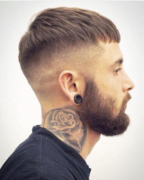 Các xu hướng kiểu tóc nam đẹp dành cho khuôn mặt tròn đầy khí chất
