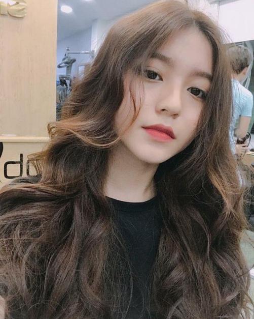 Những hình ảnh tóc rẽ ngôi nữ Hàn Quốc đẹp say đắm
