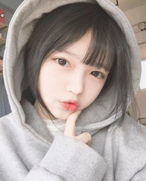 Những mẫu tóc nữ duỗi mái thưa đẹp như sao Hàn Quốc