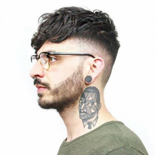 Phong cách tạo kiểu tóc layer cho nam mặt tròn đẹp yêu thích