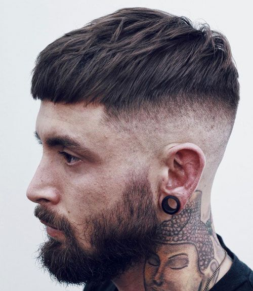 Xu hướng mới nhất với kiểu tóc layer cho nam mặt tròn đẹp