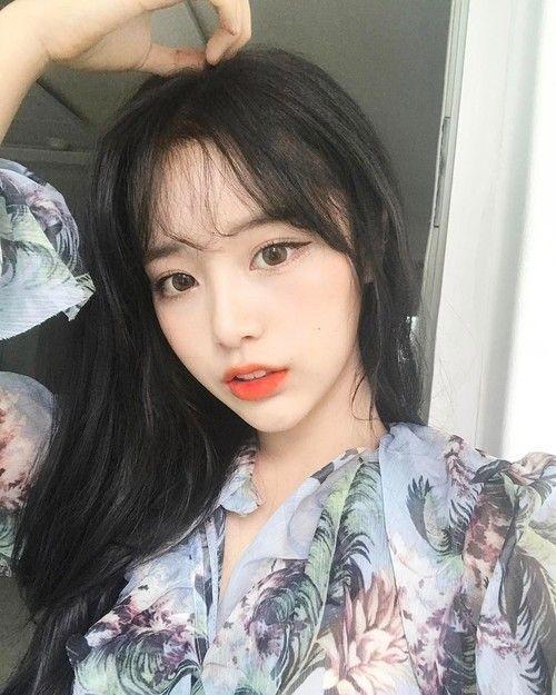 Các style kiểu tóc nữ mái thưa cho gương mặt dài và gầy đẹp nhất năm 2019