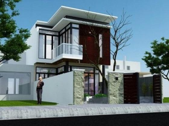Mẫu nhà đẹp 2 tầng 100m2 - thiết kế 3