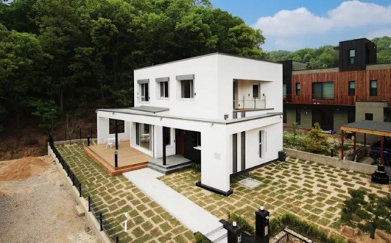 Mẫu nhà đẹp 2 tầng 100m2 - thiết kế 6