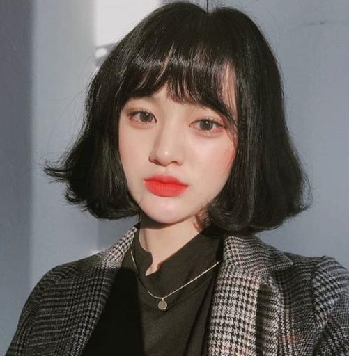 Những xu hướng về kiểu tóc ngắn đẹp dành cho nữ mặt tròn dễ thương