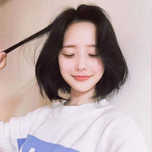 Thể hiện cá tính cùng kiểu tóc ngang vai Hàn Quốc đẹp hiện nay