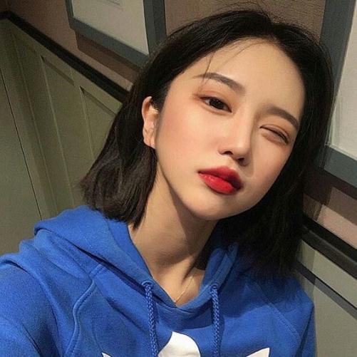 Hình ảnh các kiểu tóc ngang vai Hàn Quốc đẹp đang thịnh hành