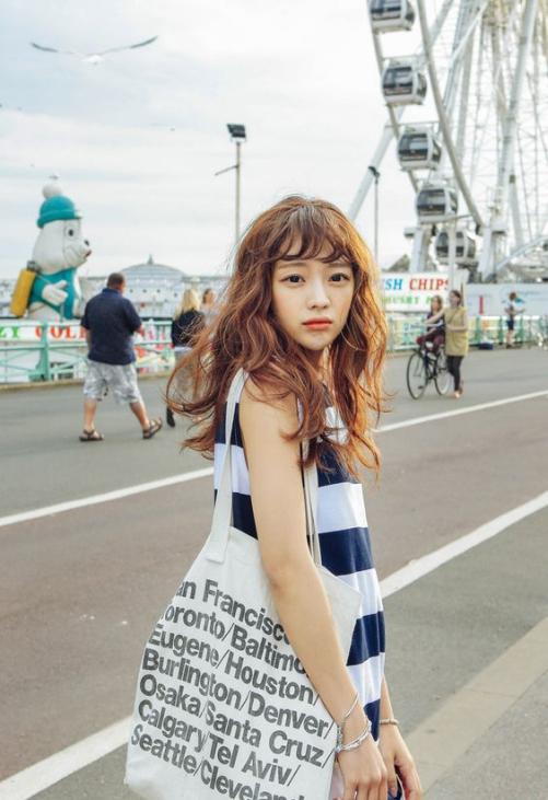 Những kiểu tóc uốn xoăn gợn sóng Hàn Quốc đẹp