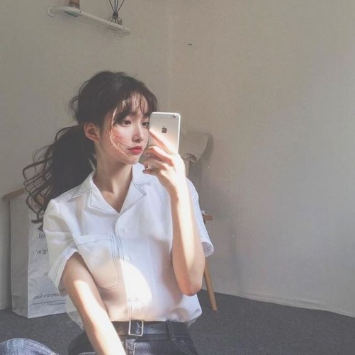 Những hình ảnh tóc uốn xoăn Hàn Quốc đẹp siêu dễ thương