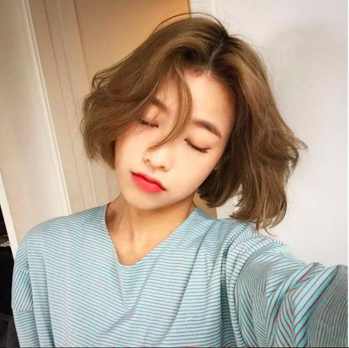 5 Tóc nữ mái ngắn uốn xoăn đẹp như sao Hàn Quốc giúp phái đẹp trẻ trung và năng động