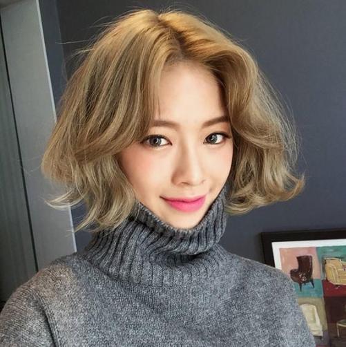 Thể hiện ác tính với các kiểu tóc nữ Hàn Quốc đẹp 2019