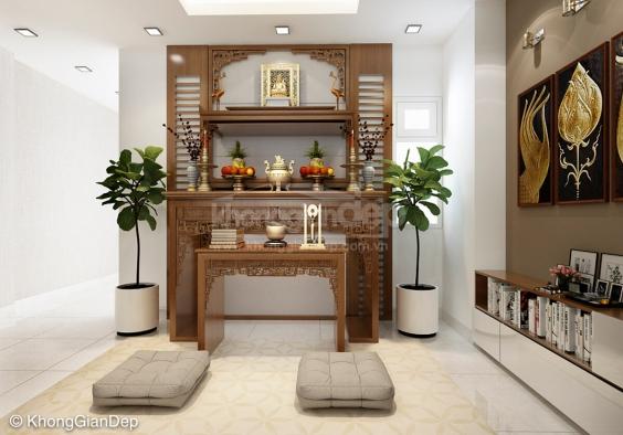 Mẫu bàn thờ cho căn hộ chung cư - Số 2