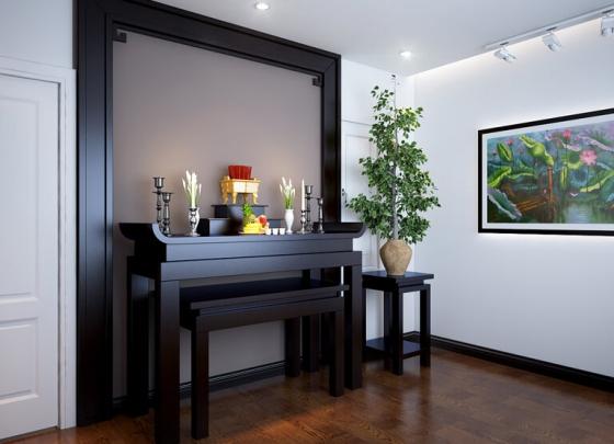 Mẫu bàn thờ cho căn hộ chung cư - Số 5