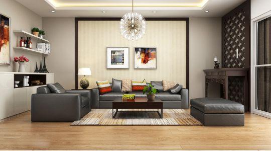 Mẫu phòng thờ phòng khách đẹp - thiết kế 2
