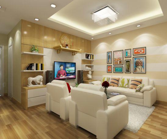Mẫu phòng thờ phòng khách đẹp - thiết kế 3