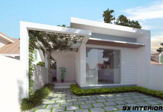 Nhà 1 tầng đơn giản -H1