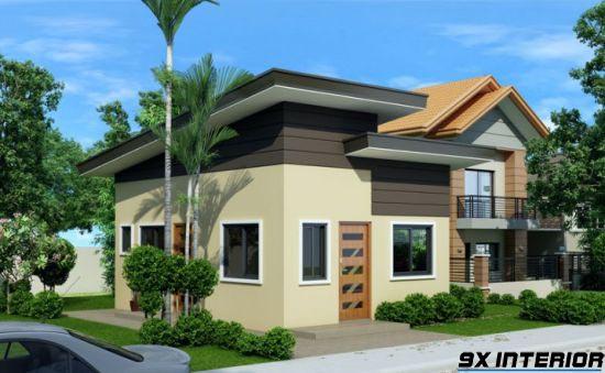 Nhà 1 tầng đơn giản -H12