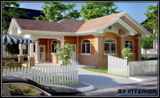 Nhà 1 tầng đơn giản -H6