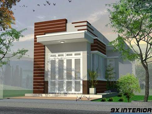 Nhà 1 tầng đơn giản -H7