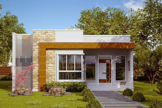 Nhà 1 tầng đơn giản -H8