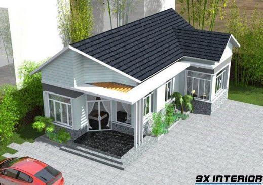 Nhà 1 tầng đơn giản -H9