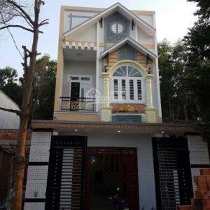 Bán nhà mới xây dựng xong nằm ngay chợ Phú Phong - Bình Chuẩn