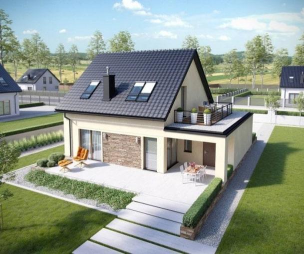 nhà đẹp 200 triệu ở nông thôn