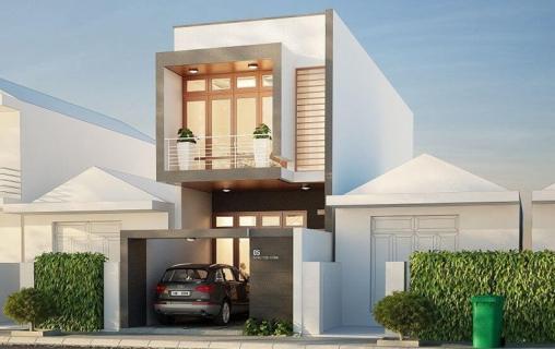 Thiết kế nhà phố đẹp diện tích 8x15m2 - Mẫu 4